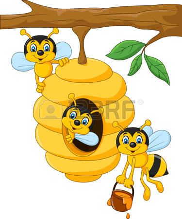 Bee Hive clipart #3, Download drawings