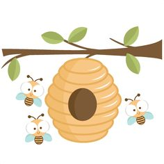 Bee Hive clipart #1, Download drawings