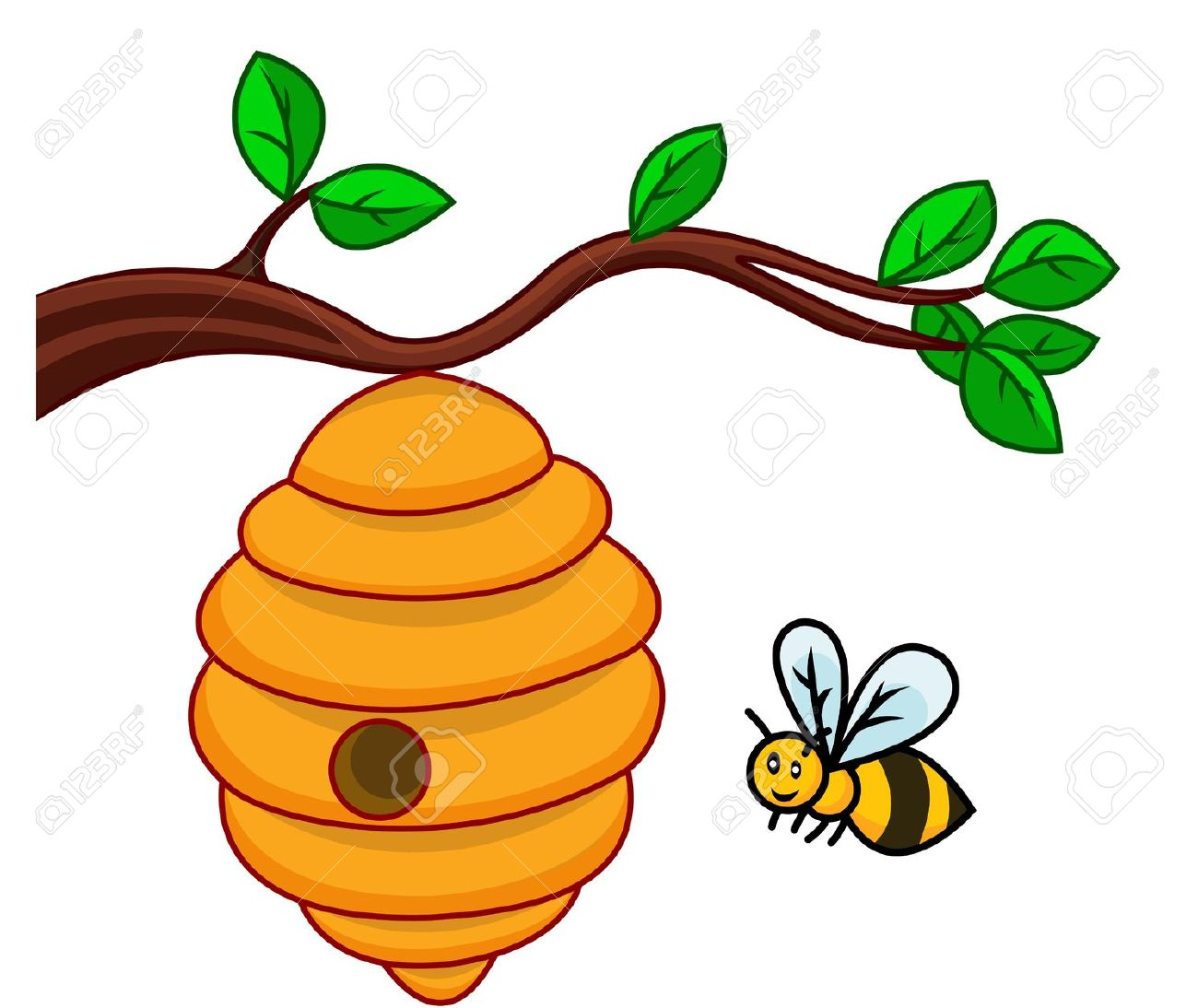 Bee Hive clipart #19, Download drawings