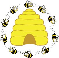 Bees clipart #4, Download drawings