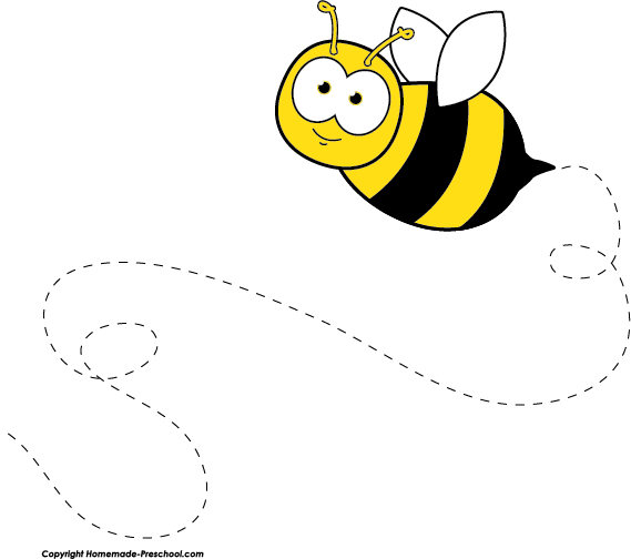 Bee clipart #2, Download drawings