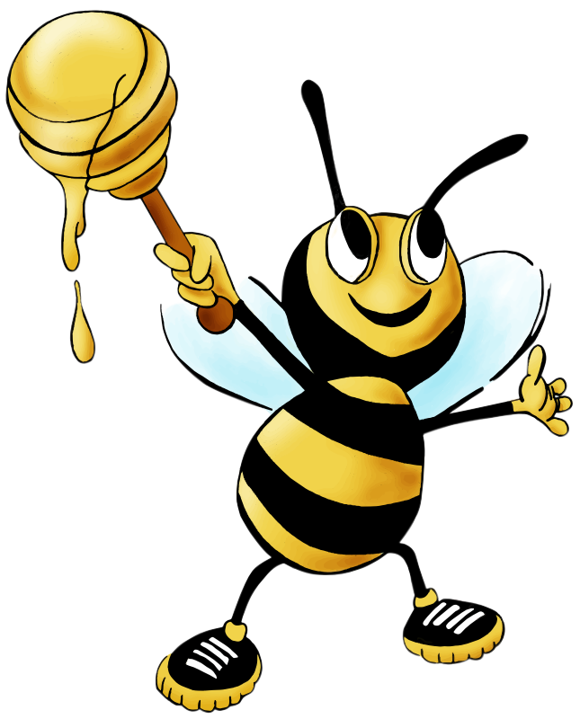 Bees clipart #1, Download drawings