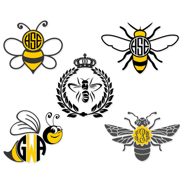 Bee svg #3, Download drawings