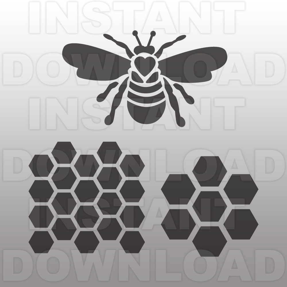Bees svg #11, Download drawings