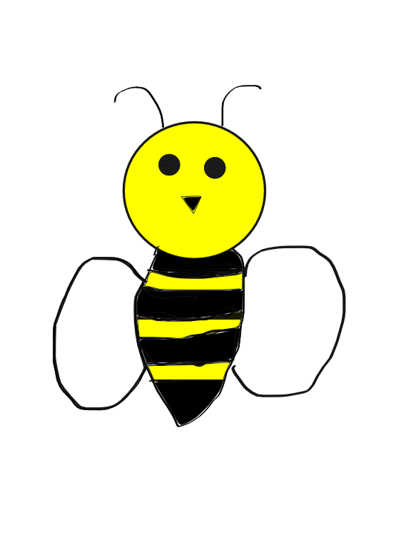 Bees svg #2, Download drawings