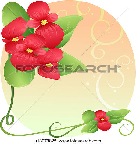 Begonia clipart #12, Download drawings