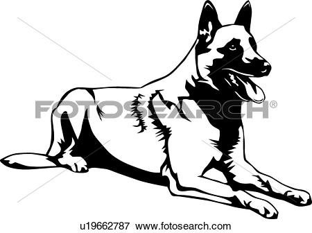 Belgian Malinois clipart #18, Download drawings