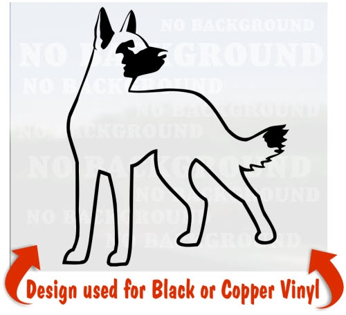 Belgian Malinois clipart #2, Download drawings