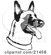 Belgian Malinois clipart #9, Download drawings