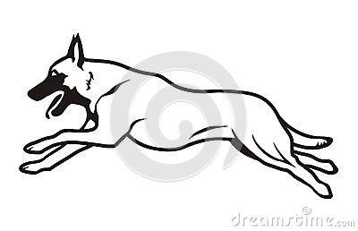 Belgian Malinois clipart #15, Download drawings