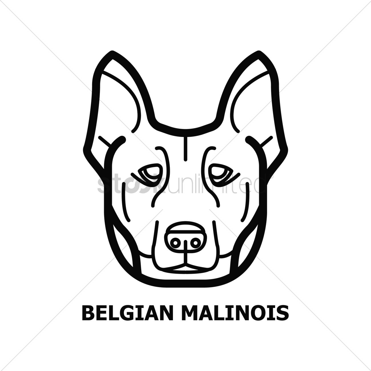 Belgian Malinois svg #11, Download drawings