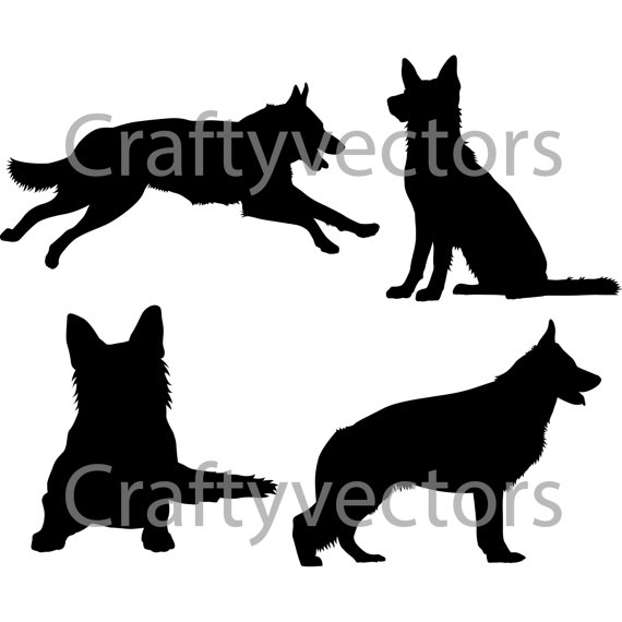German Shepherd svg #8, Download drawings