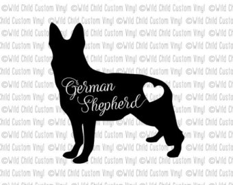German Shepherd svg #2, Download drawings