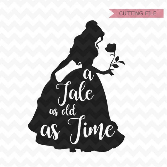 belle silhouette svg #12, Download drawings