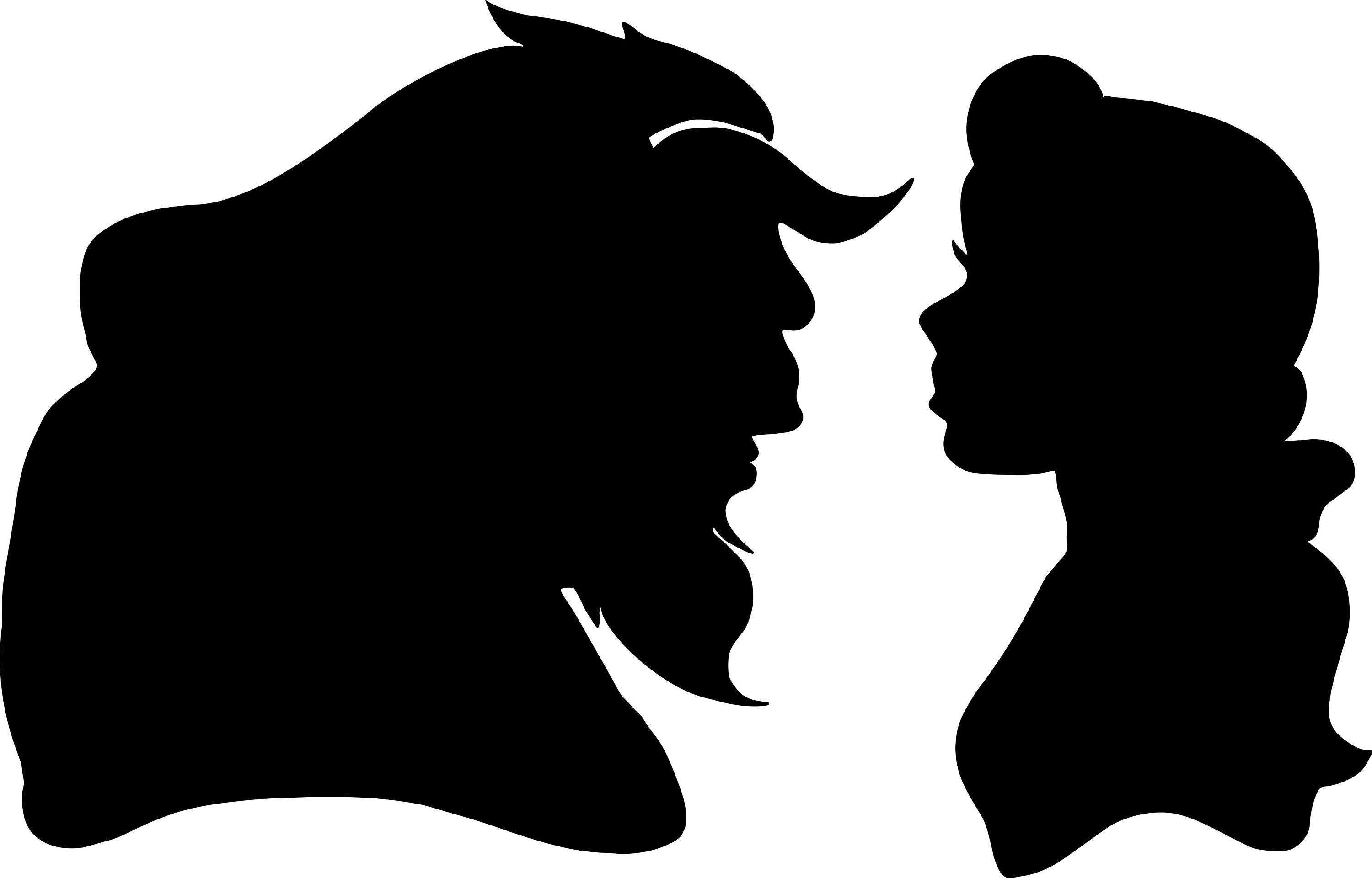 belle silhouette svg #3, Download drawings