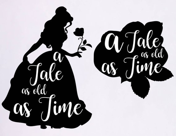 belle silhouette svg #7, Download drawings
