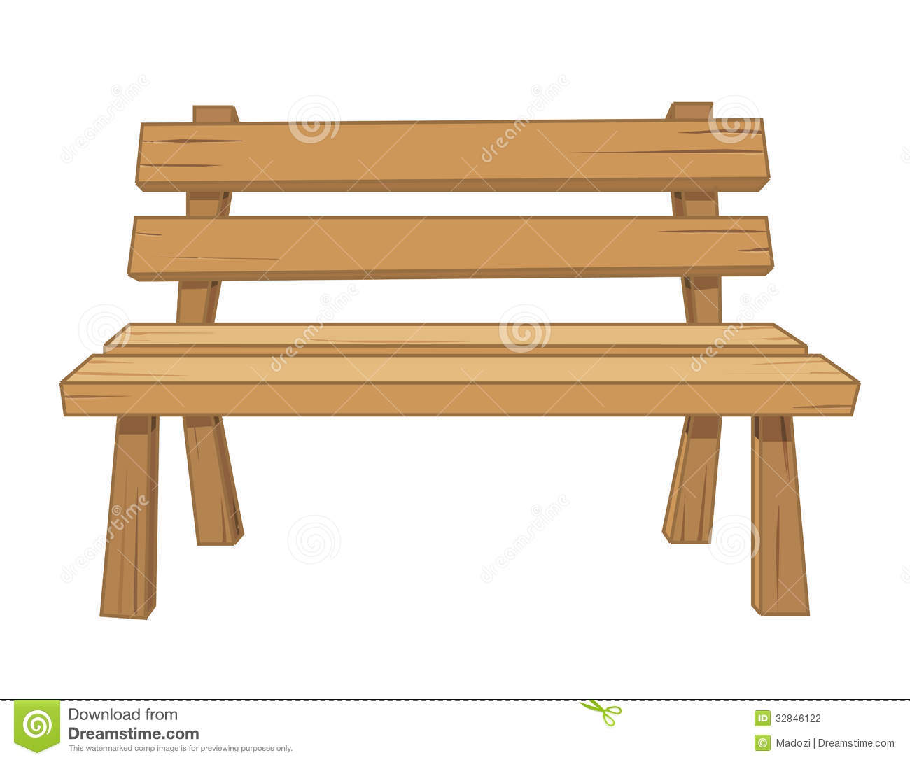 Bench clipart #7, Download drawings