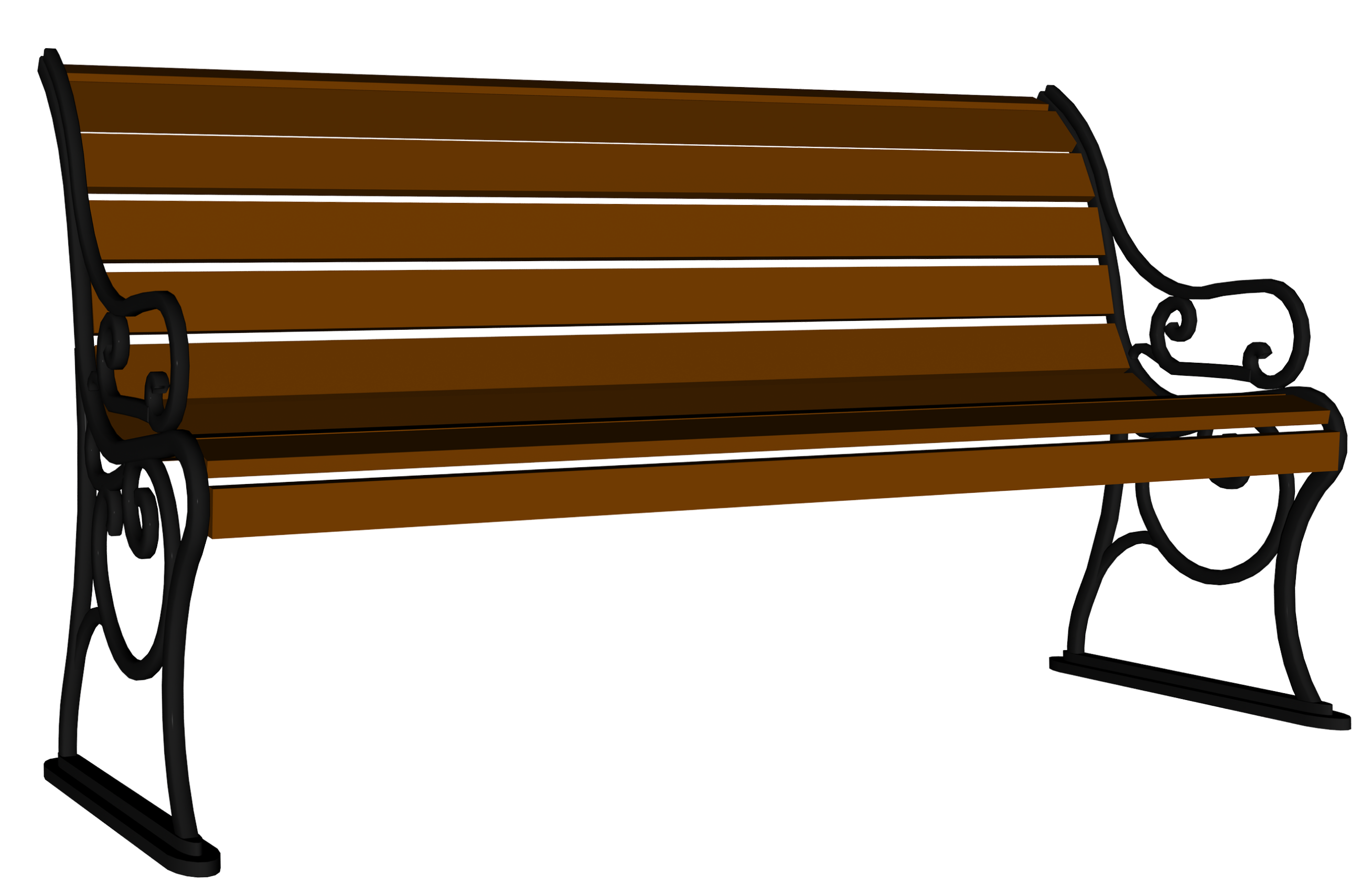Bench clipart #15, Download drawings