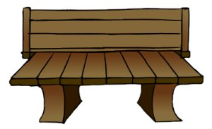 Bench clipart #19, Download drawings