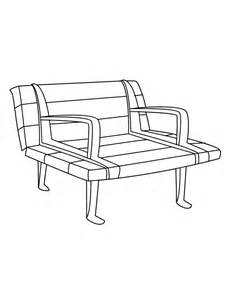 Download Park Bench Coloring For Free Designlooter 2020