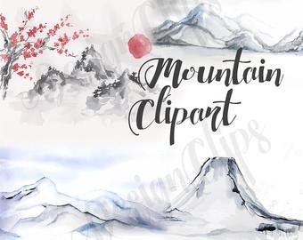 Berge clipart #1, Download drawings