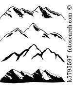 Berge clipart #15, Download drawings