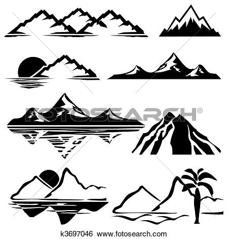 Berge clipart #4, Download drawings