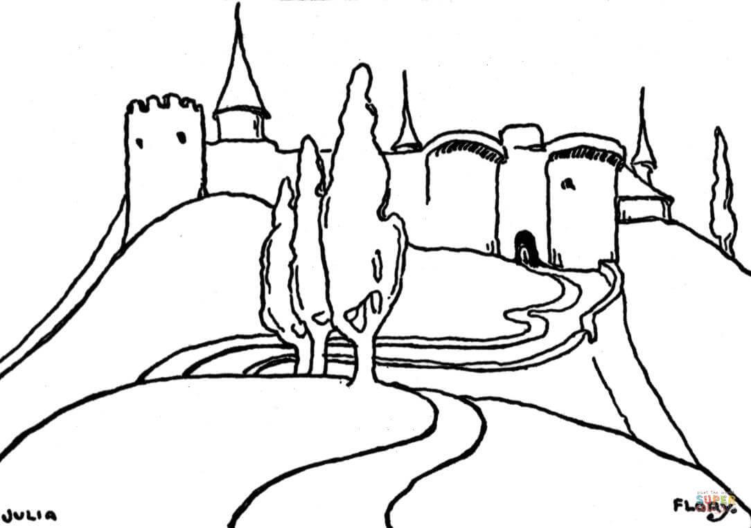 Berge coloring #11, Download drawings