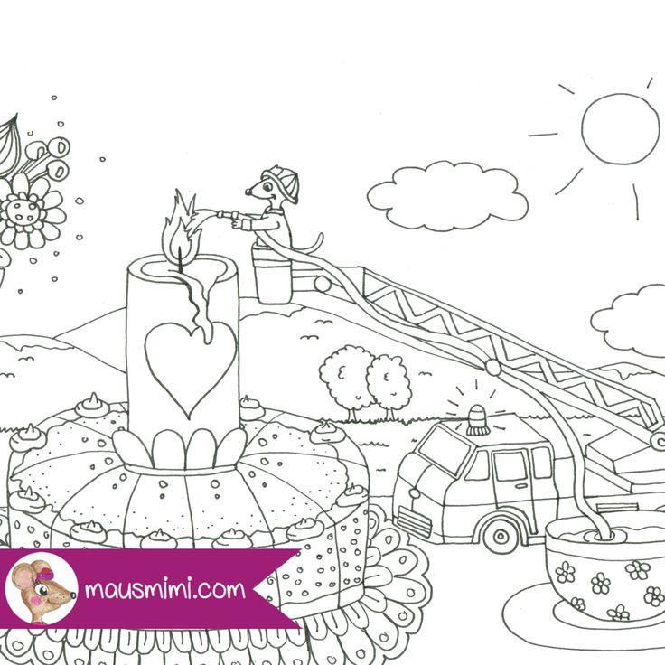 Berge coloring #8, Download drawings