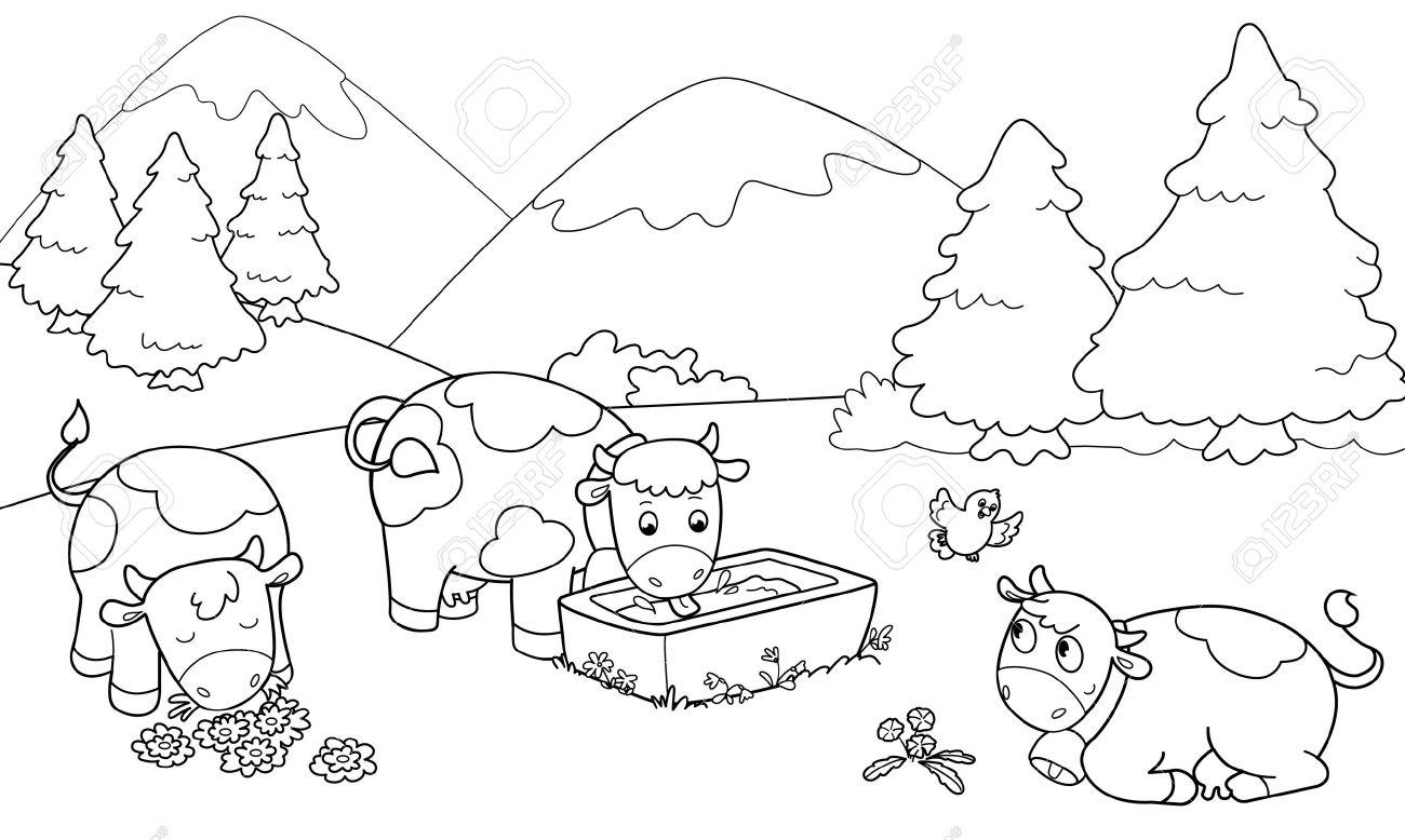 Berge coloring #15, Download drawings