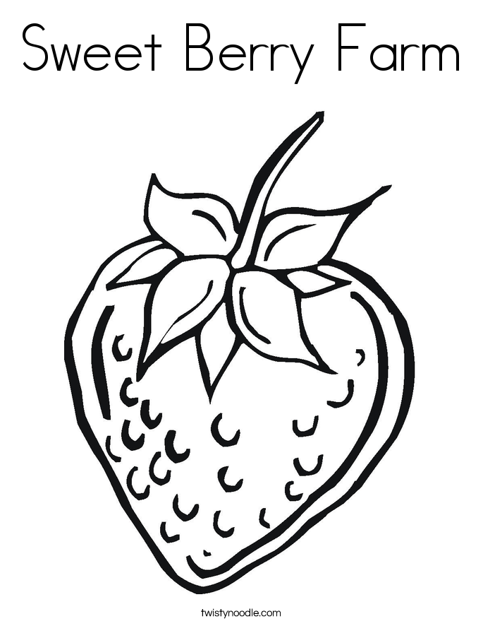 Berry coloring #7, Download drawings