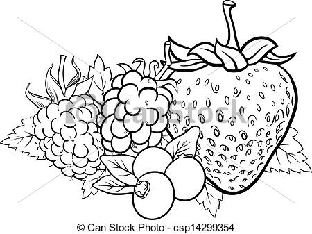 Berry coloring #4, Download drawings