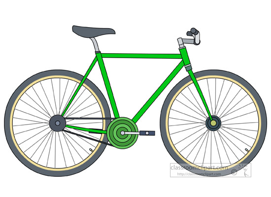 Bicycle clipart #4, Download drawings