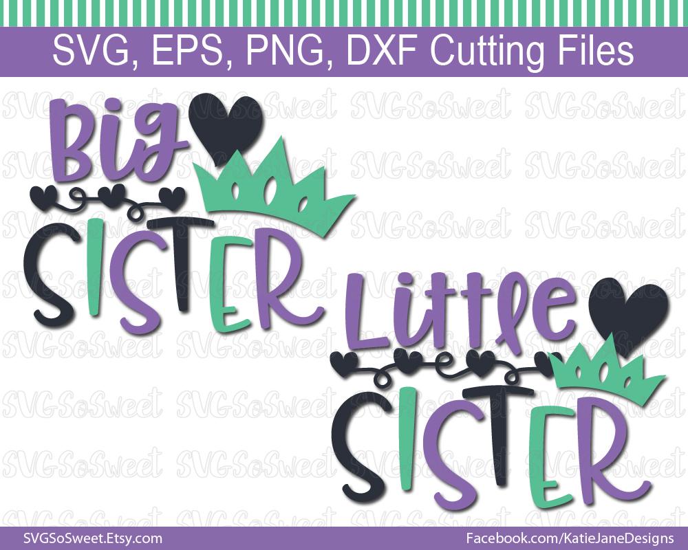 big sister little sister svg #740, Download drawings