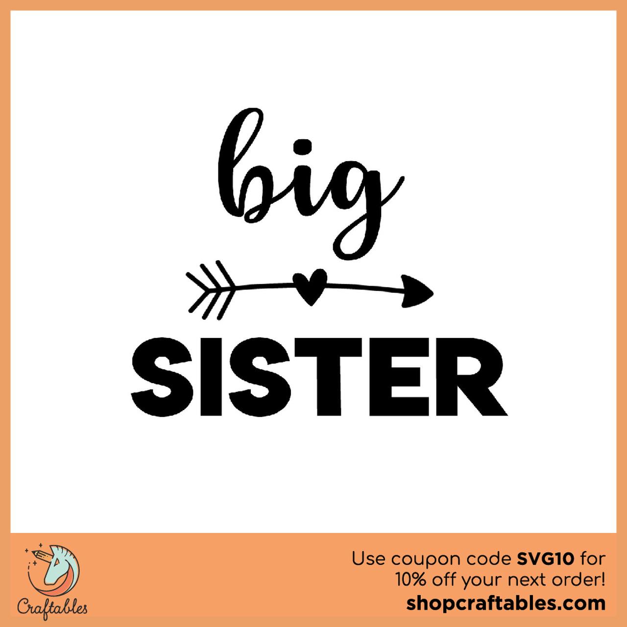 big sister svg free #496, Download drawings