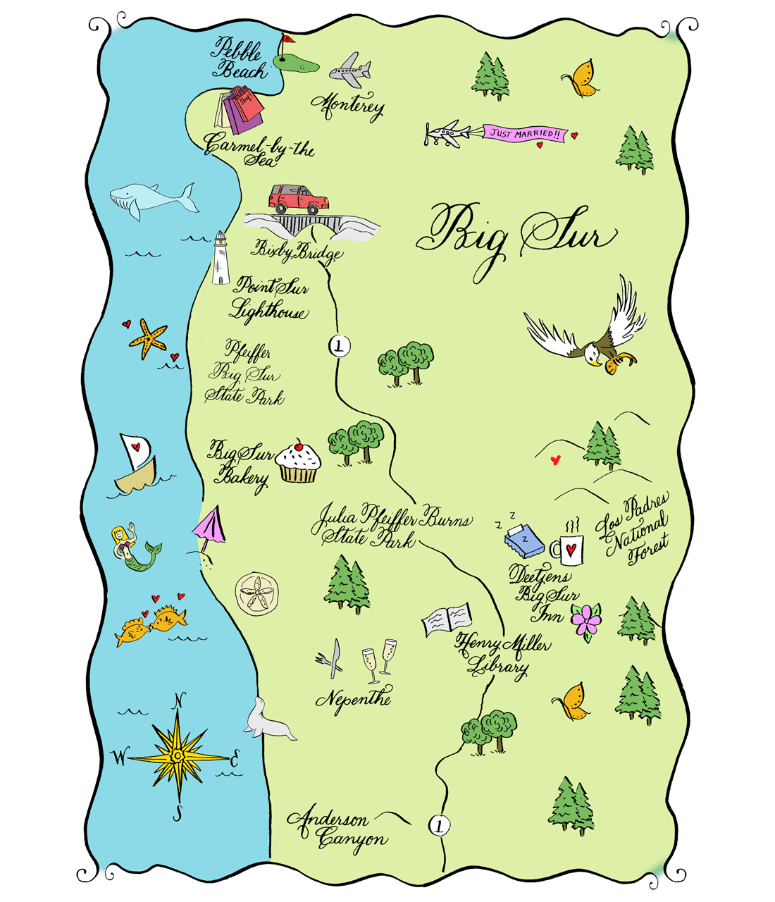 Big Sur clipart #2, Download drawings