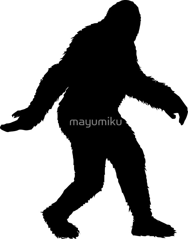 Sasquatch clipart #18, Download drawings