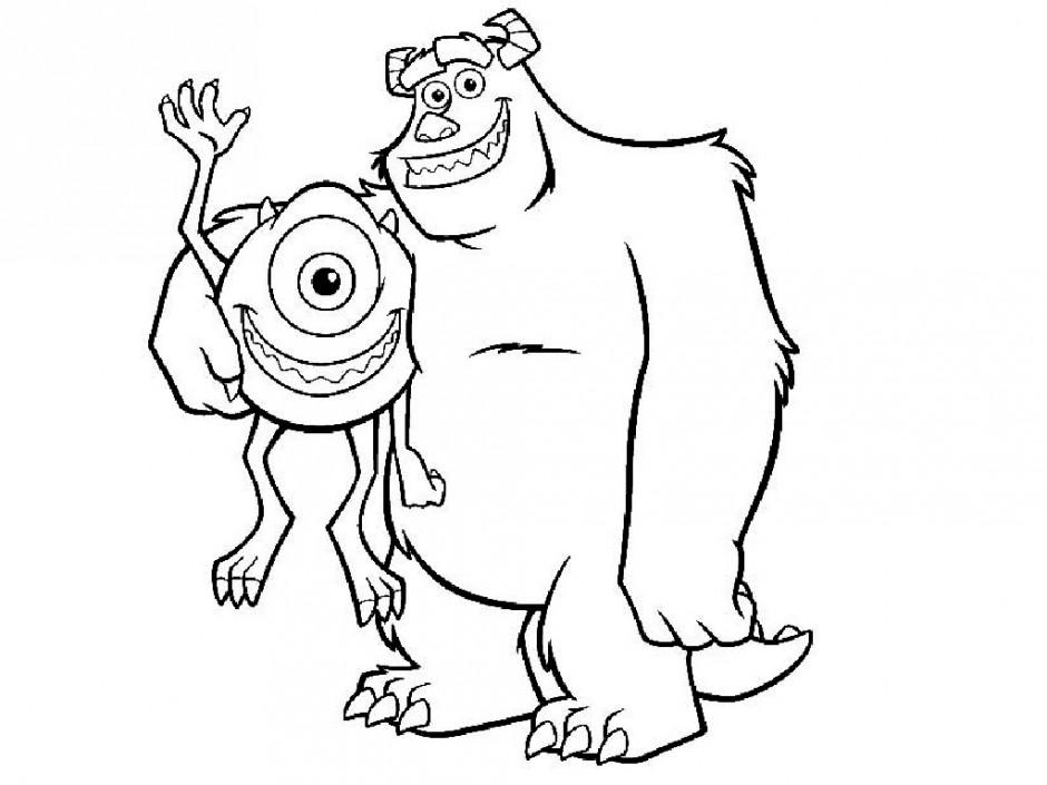 Bigfoot coloring #2, Download drawings