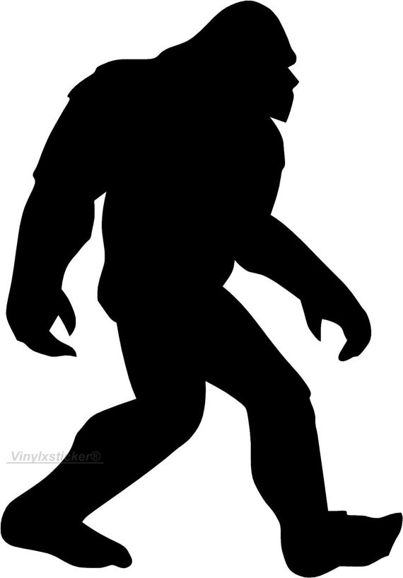 Sasquatch svg #7, Download drawings
