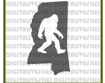 Bigfoot svg #2, Download drawings
