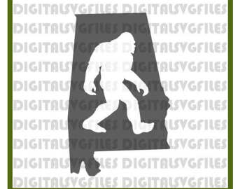 Sasquatch svg #1, Download drawings