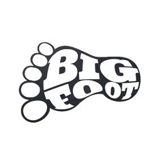 Bigfoot svg #3, Download drawings