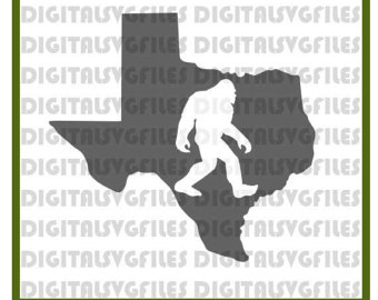 Bigfoot svg #1, Download drawings