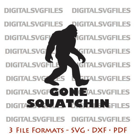 Bigfoot svg #4, Download drawings