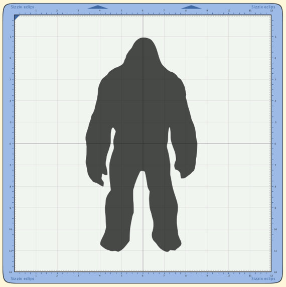 Sasquatch svg #10, Download drawings