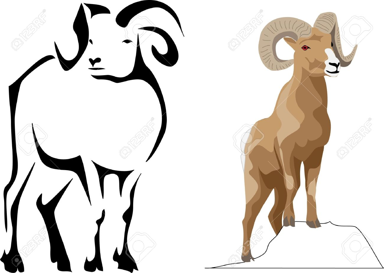 Bighorn Sheep clipart #8, Download drawings