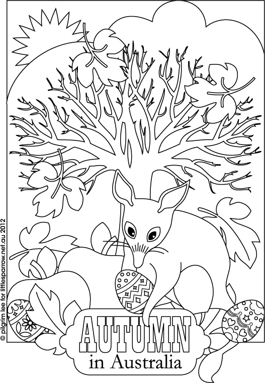 Bilby coloring #13, Download drawings