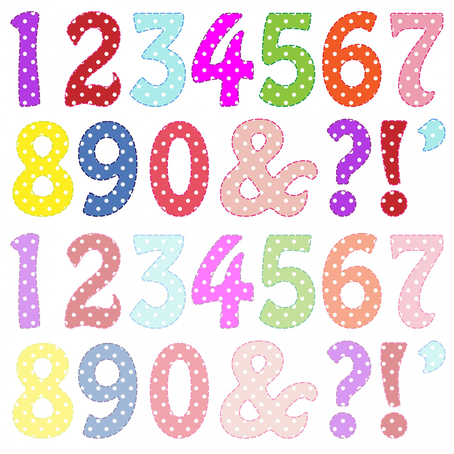 Numbers clipart #18, Download drawings