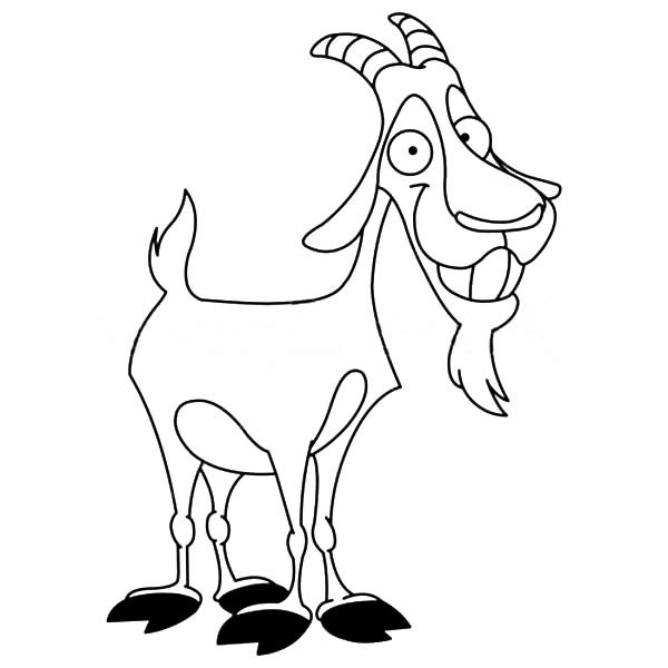 Billy Goat coloring #14, Download drawings