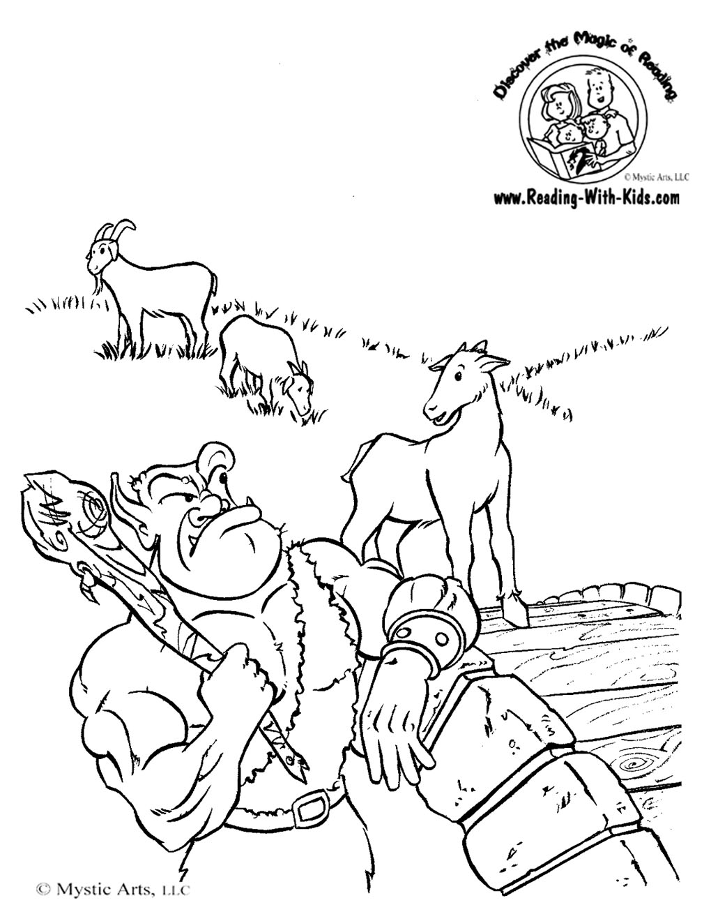 Billy Goat coloring #18, Download drawings
